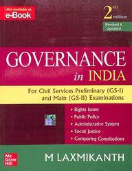 Governance in India for Civil Services Examinations (English) 2nd  Edition price comparison at Flipkart, Amazon, Crossword, Uread, Bookadda, Landmark, Homeshop18