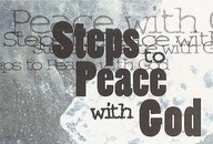 Steps To Peace With God: Typography