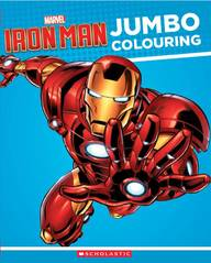 Iron Man Jumbo Colouring