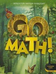 Houghton Mifflin Harcourt Go Math: Student Edition Grade 1 2012