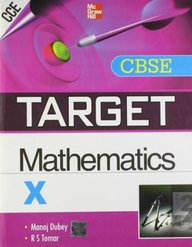 TARGET CBSE Mathematics (Class - X) 1st  Edition price comparison at Flipkart, Amazon, Crossword, Uread, Bookadda, Landmark, Homeshop18