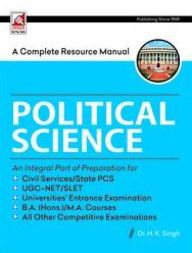 Complete Resource Manual Political Science Civil Services/State Pcs : Code 8.8.1