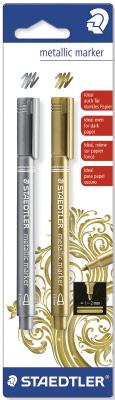 Staedtler Marker Metallic Silver