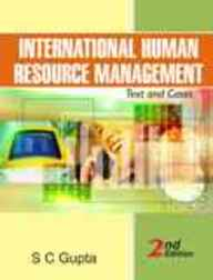 INTERNATIONAL HUMAN RESOURCE MANAGEMENT TEXT and    CASES