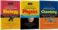 Chapterwise-Topicwise Questions-Solutions Physics, Chemistry and Biology for Medical Entrances Highly Useful for NEET 2013 (Set of 3 Books) price comparison at Flipkart, Amazon, Crossword, Uread, Bookadda, Landmark, Homeshop18