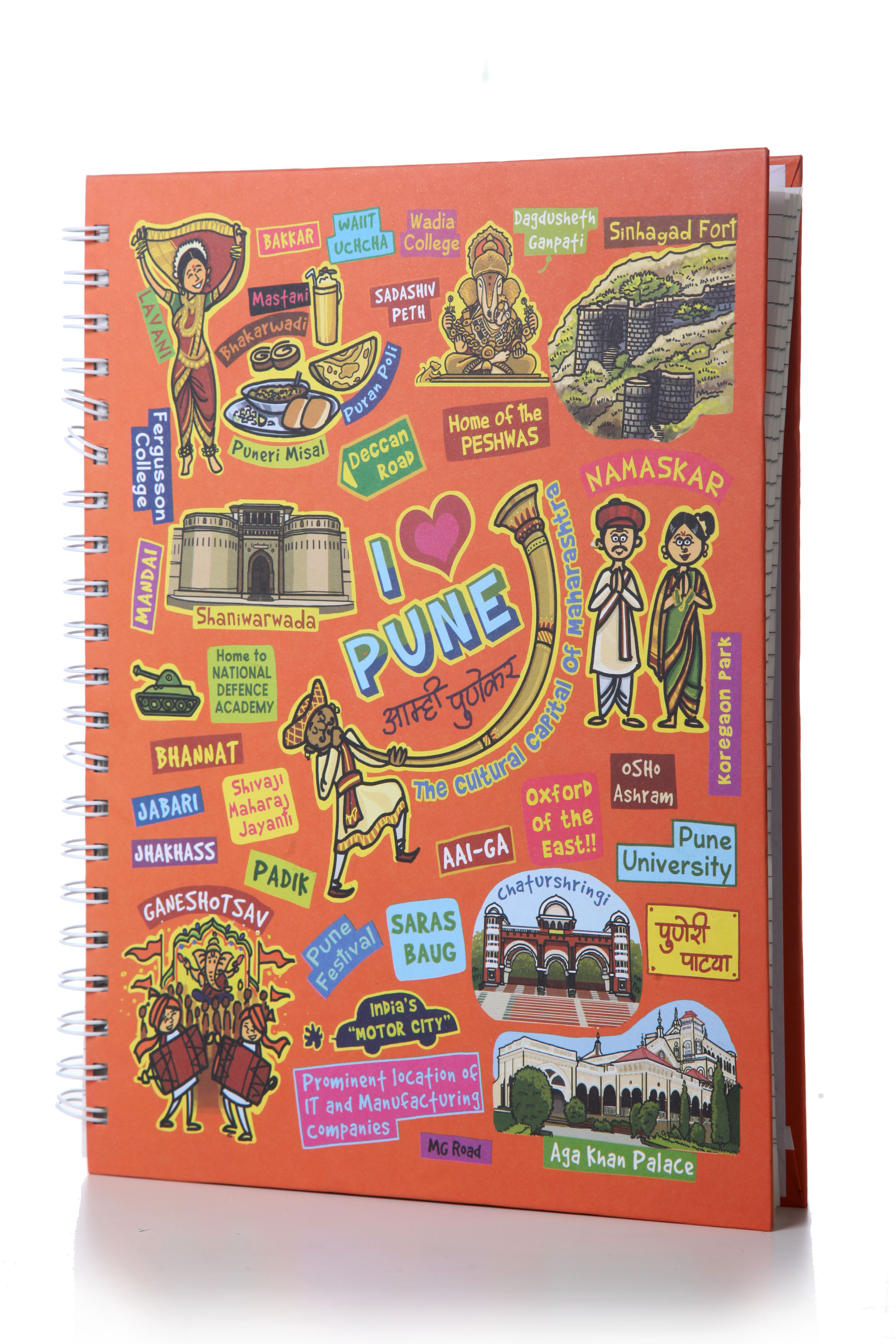 Eco Corner Pune Ruled Exercise Book