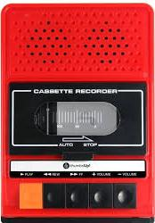 Thumbs UP Retro I Tape Recorder