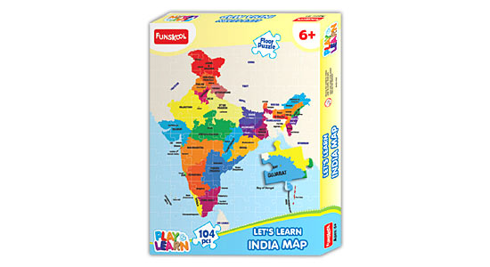 Funskool India Map Puzzles
