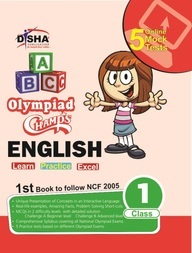 English Olympiad Champs Class 1 : 5 Online Mock Tests