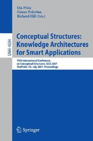 Conceptual Structures: Knowledge Architectures For Smart Applications: 15th International Conference On Conceptual Structures, I