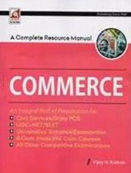 Complete Resource Manual Commerce Civil Services/ State Pcs : Code 8.1.3.2