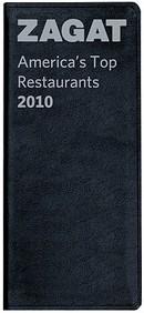 Zagat America's Top Restaurants Leather 2010
