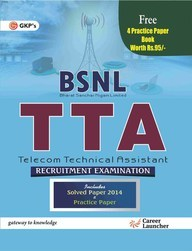 Guide to BSNL Telecom Technical Assistant(TTA) includes free Practice Paper (Combo)