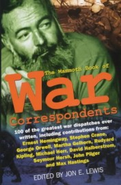 Mammoth Book Of War Correspondents