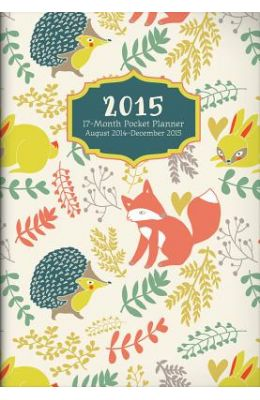 Forest Critters Monthly Pocket Planner