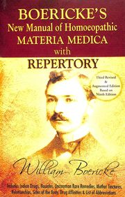 New Manual Of Homoeopathic Materia Medica &        Repertory