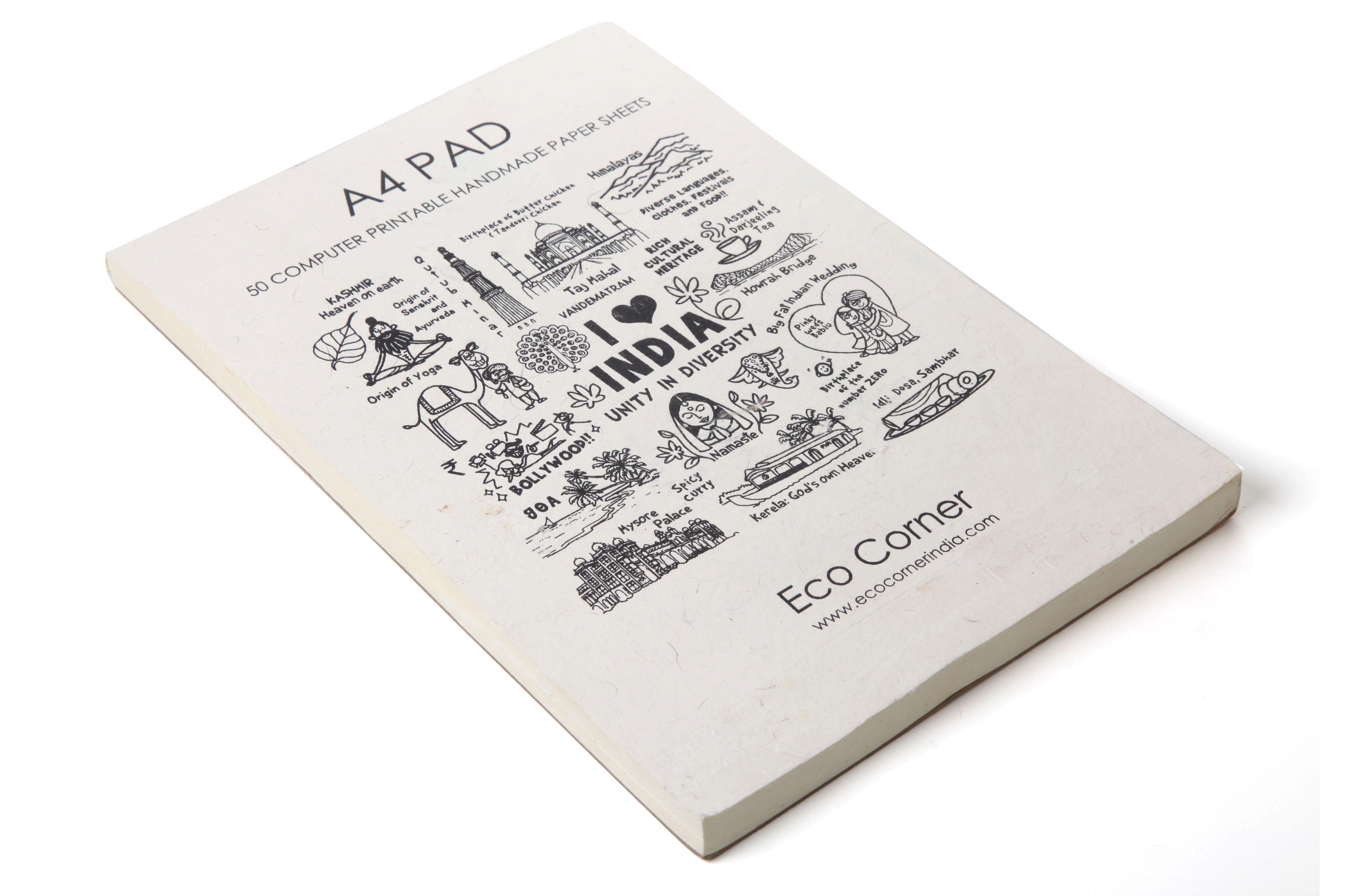 Eco Corner A4 computer printable pad