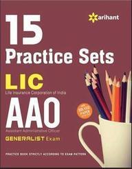 Lic Aao 15 Practice Sets Generalist Exam : Code   D682