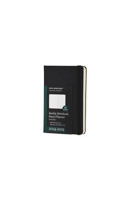 Moleskine 2014-2015 Weekly Planner, 18 Month, Pocket, Black, Hard Cover (3.5 X 5.5)