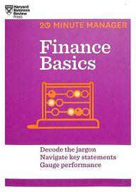 Finance Basics : 20 Minute Manager
