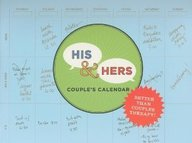 2011 His & Hers Couple's Perpetual Wall Calendar