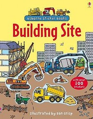 Usborne Sticker Book: Building Sites