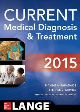 Current Medical Diagnosis & Treatment 2015 Lange