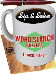 Sip & Solve: Word Search Puzzles (sip & Solve Series)