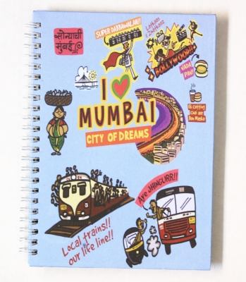 Eco Corner Small Mumbai Ruled Exercise Book