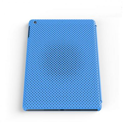 IRUAL Mesh Shell Case Blue for iPad Air