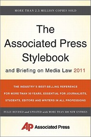 Associated Press Stylebook And Briefing On Media Law 2011