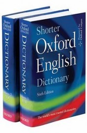 Shorter Oxford English Dictionary Set Of 2