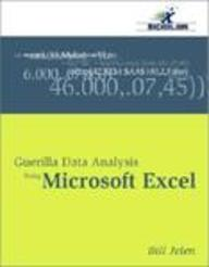 Guerilla Data Analysis Using Microsoft Excel