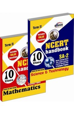 Ncert Handbook Term - 2 - Science & Mathematics Class - 10 ( Value Questions ) Sample Papers + Revision Material