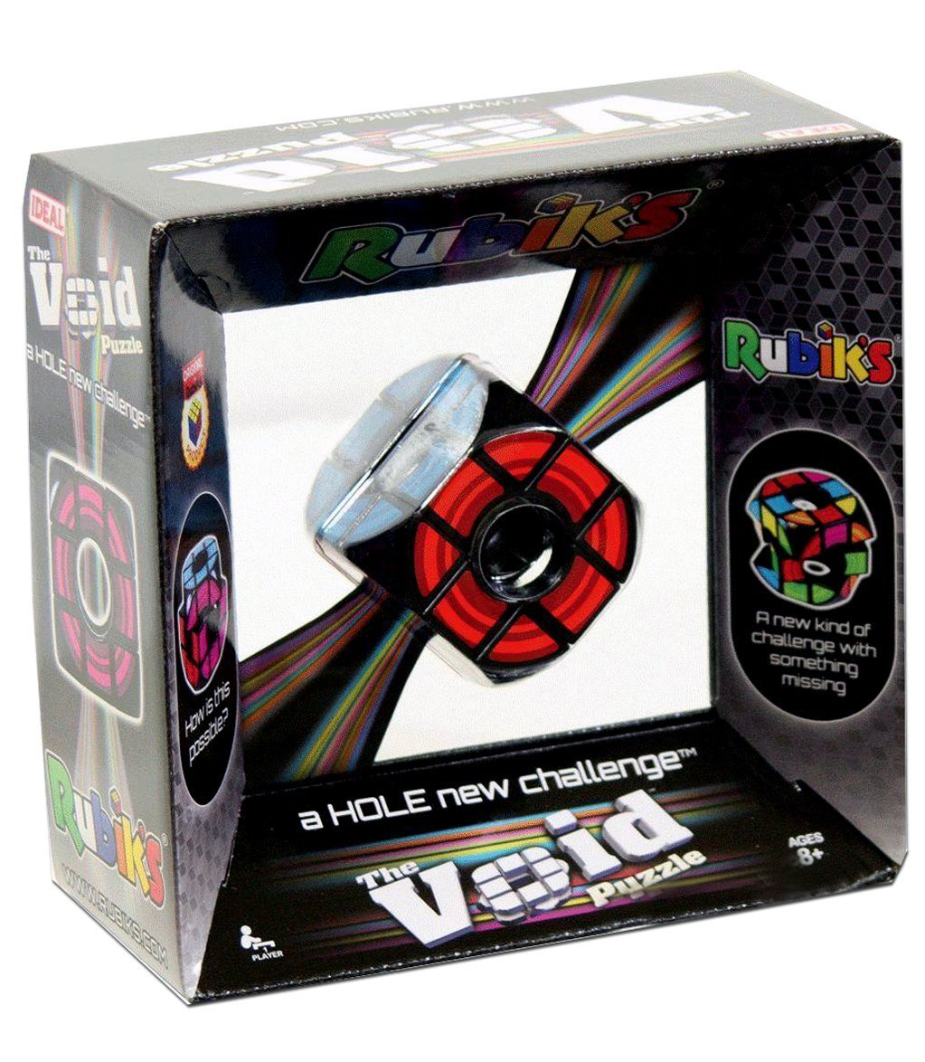 Rubiks The Void Puzzle - A Hole new challenge