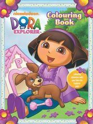 Dora Friendship Colouring Book