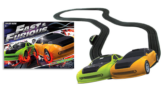 Scalextric Fast and the Furious