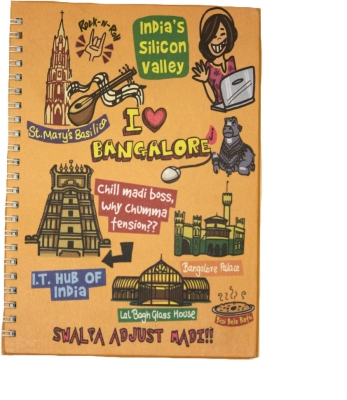 Eco Corner Small Bangalore Ruled Exercise Book