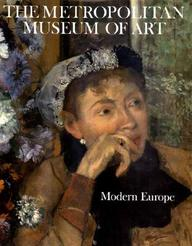 Modern Europe (Metropolitan Museum Of Art Series)
