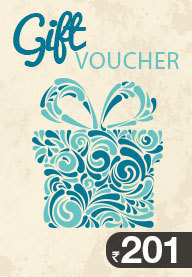 Gift Card Worth Rs 201