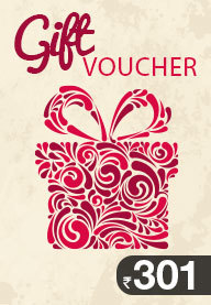 Gift Card Worth Rs 301