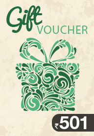 Gift Card Worth Rs 501