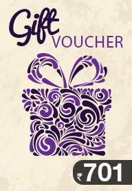 Gift Card Worth Rs 701