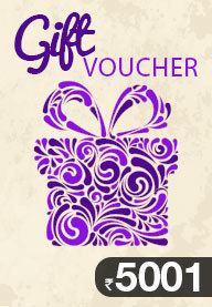 Gift Card Worth Rs 5001
