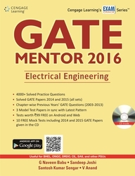 Gate Mentor 2016: Electrical Engineering With Cd