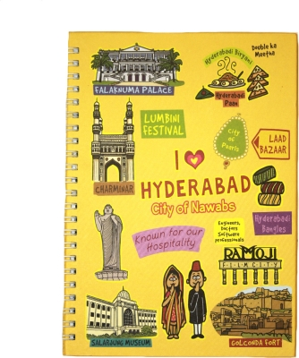 Eco Corner Small Hyderabad Ruled Exercise Book