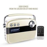 Saregama Carvaan Portable Digital Music Player (Porcelain White)
