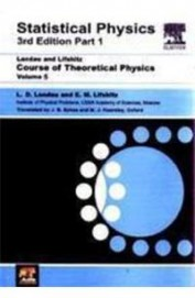 Statistical Physics Course Of Theoretical Physics Vol 5 Part 1