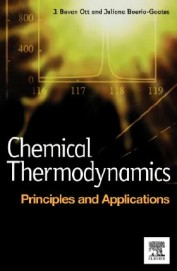 Chemical Thermodynamics Principles & Applications