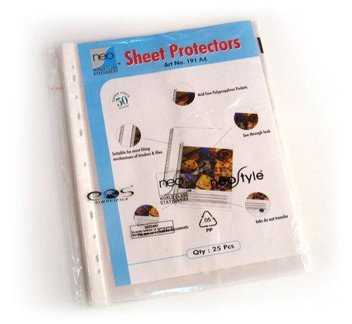Neo Sheet Protectors, 50 mic super thick, 25 pcs/pack
